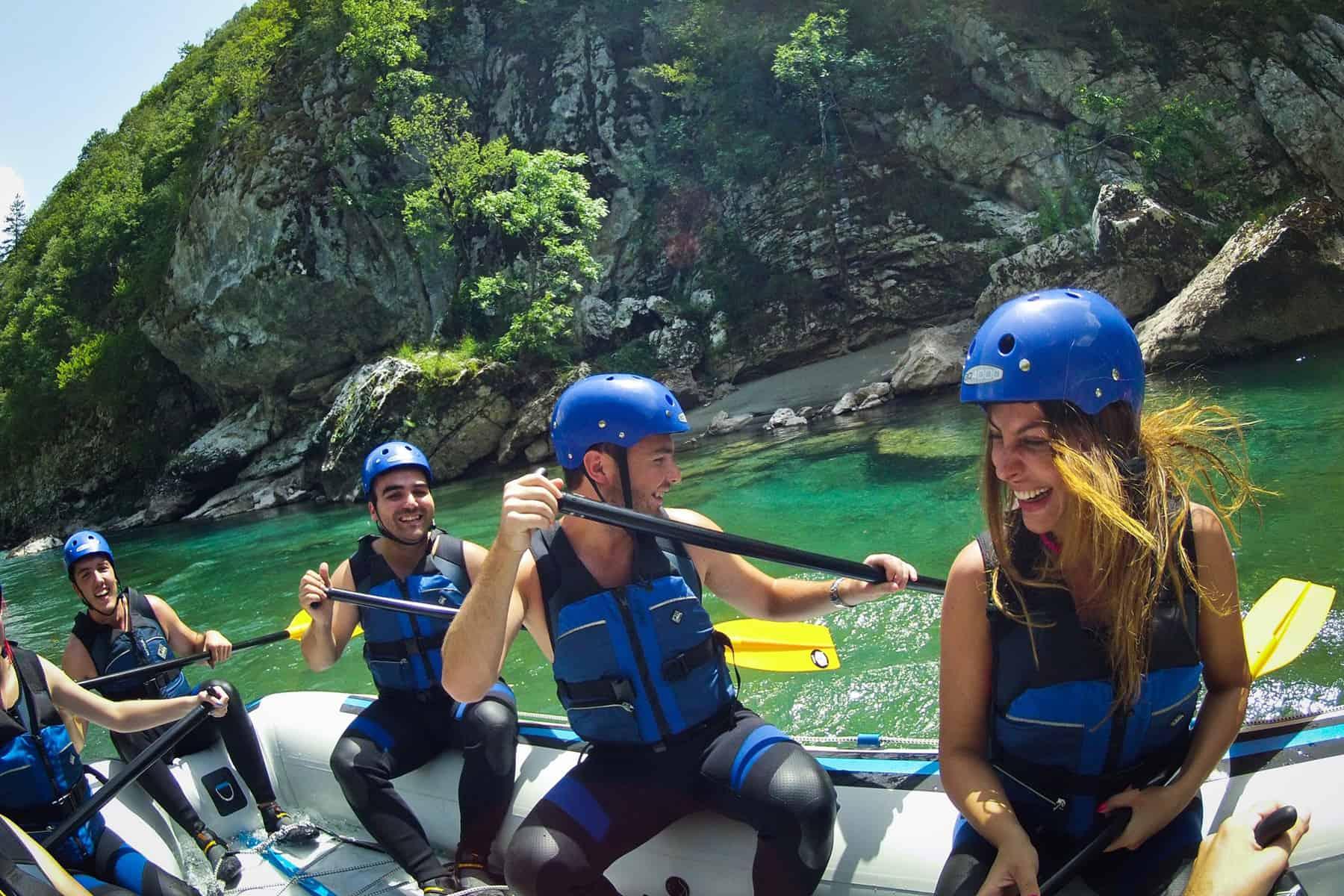 Rafting on Tara River Montenegro Adventure
