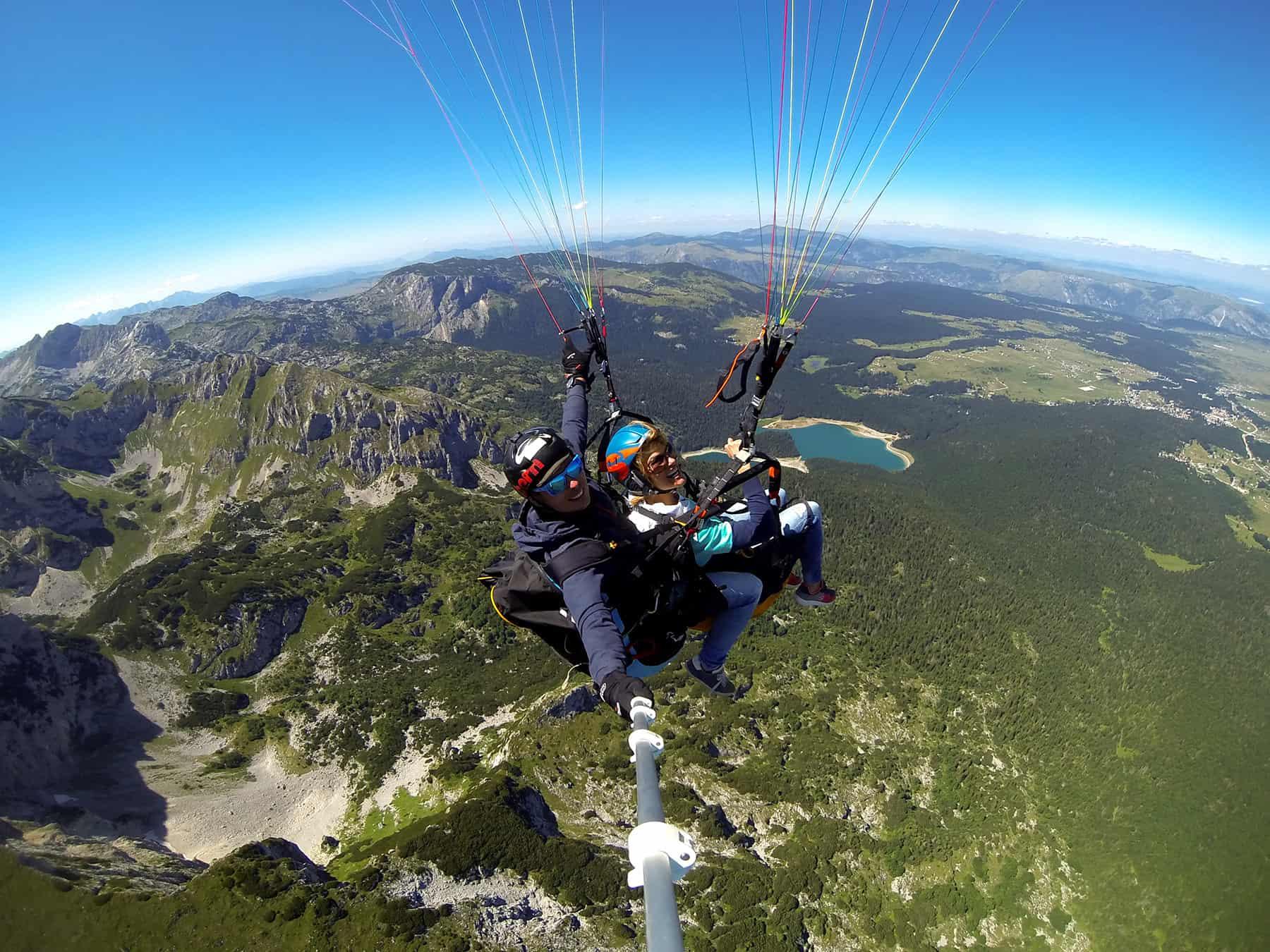 Paragliding Savin Kuk