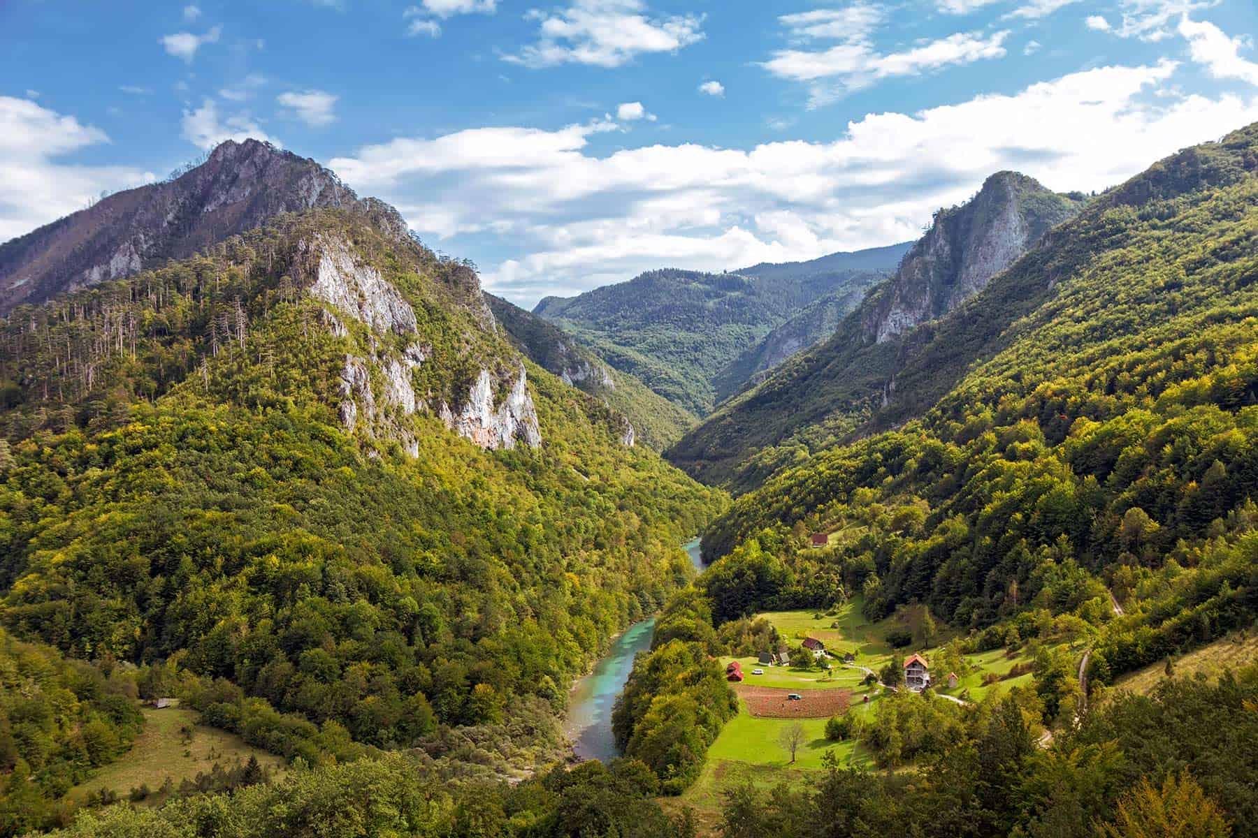 River Tara Canyon, Montenegro