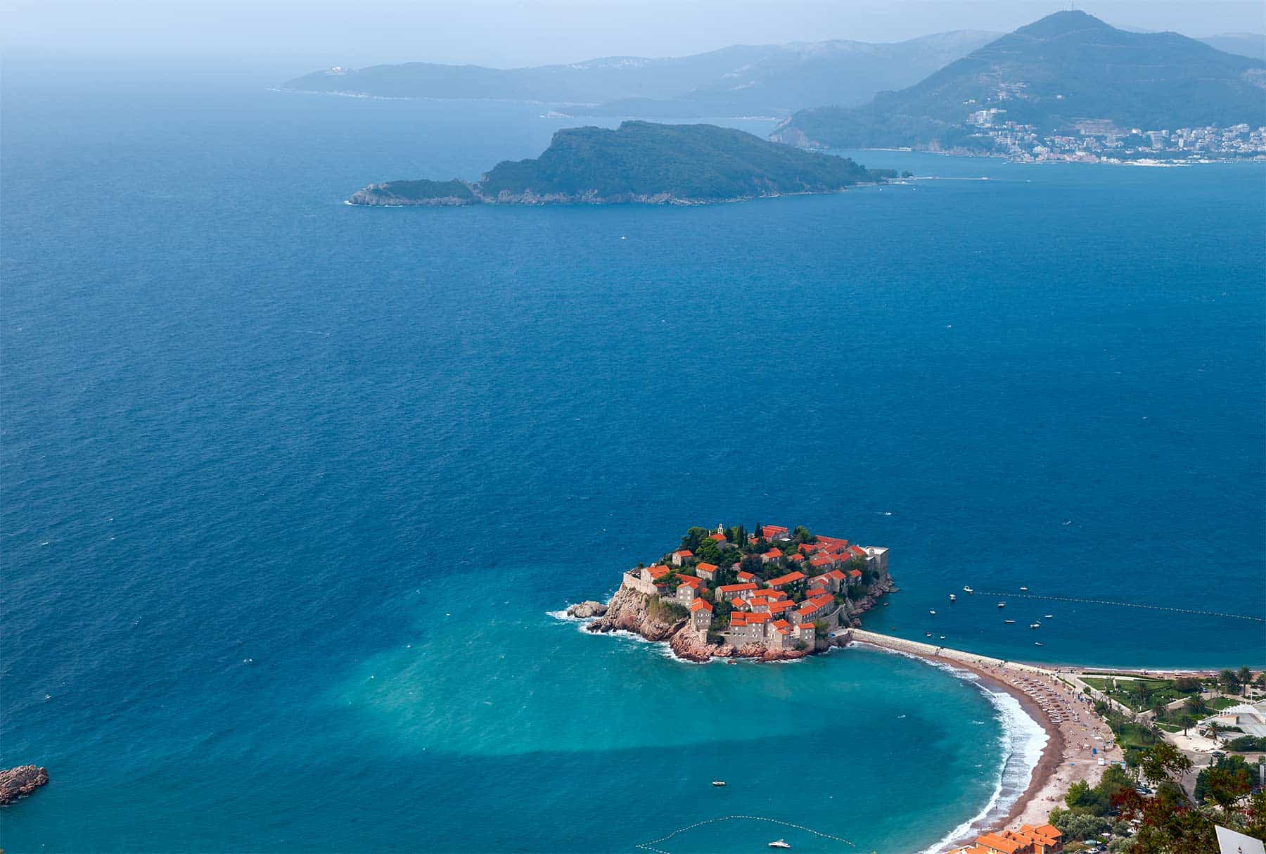 Sveti Stefan, the jewel in the Budva Riviera